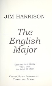 Cover of: The English major