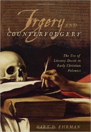 Cover of: Forgery and counter-forgery