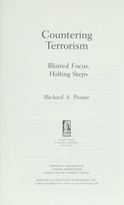 Cover of: Countering terrorism | Richard A. Posner
