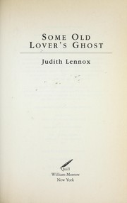 Cover of: Some old lover's ghost