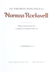 Cover of: 102 FAVORITE PAINTINGS by Norman Rockwell