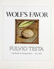 Cover of: Wolf's favor