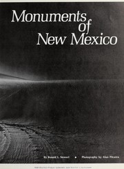 Cover of: Monuments of New Mexico