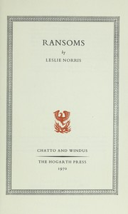 Cover of: Ransoms