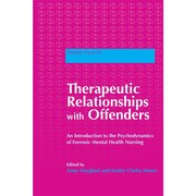 Cover of: Therapeutic relationships with offenders |
