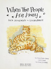 Cover of: When the people are away