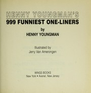 Cover of: Henny Youngman's 999 funniest one liners