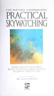 Cover of: The Nature Companions Practical Skywatching