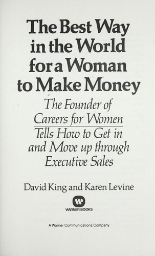 The Best Way In The World For A Woman To Make Money 1980 -1018
