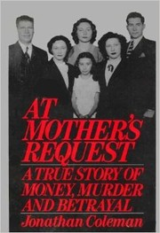 Cover of: At mother's request