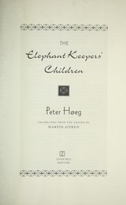 Cover of: The elephant keepers' children