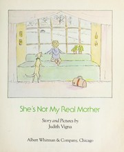 Cover of: She's not my real mother