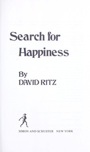 Cover of: Search for happiness
