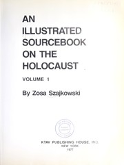 Cover of: An Illustrated Sourcebook on the Holocaust