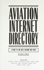 Cover of: Aviation Internet Directory |
