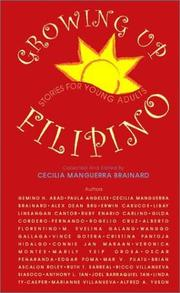 Cover of: Growing up Filipino |