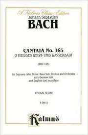 Cover of: Cantata No. 165 | George Gershwin