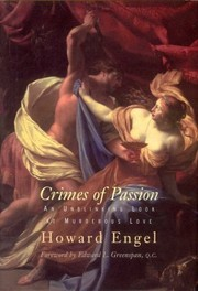 Cover of: Crimes of passion