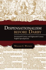Cover of: Dispensationalism before Darby |