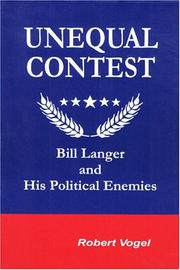 Cover of: Unequal Contest