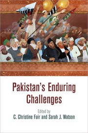 Cover of: PAKISTAN'S ENDURING CHALLENGES |