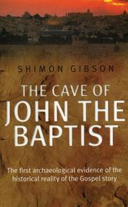 Cover of: The Cave of John the Baptist