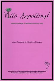 Cover of: Villa Appalling | Donie Vanitzian And Stephen Glassman
