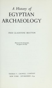 Cover of: A history of Egyptian archaeology