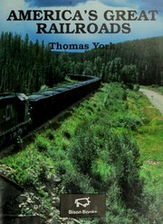 Cover of: America's Great Railroads
