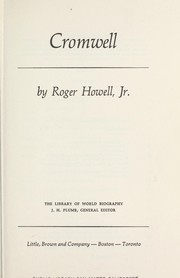 Cover of: Cromwell | Roger Howell