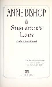 Cover of: Shalador's lady