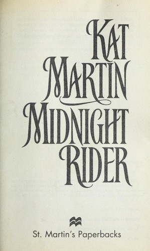 Midnight rider by Kat Martin