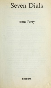 Cover of: Seven dials | Anne Perry