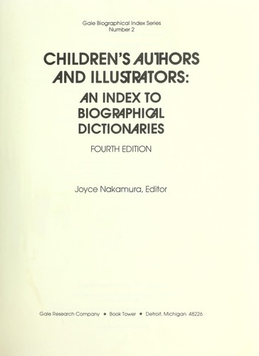 Children's authors and illustrators by Joyce Nakamura