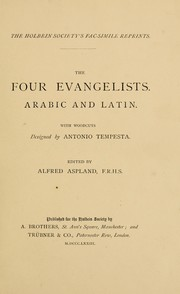 Cover of: The four evangelists