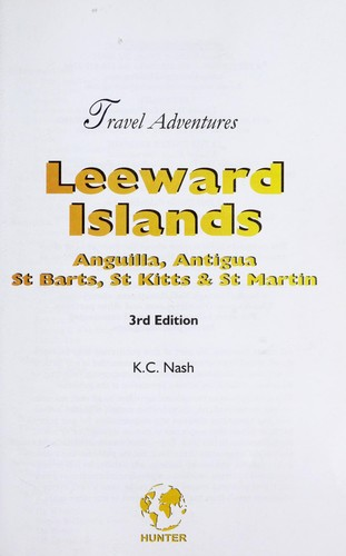 Leeward Islands [electronic resource] by