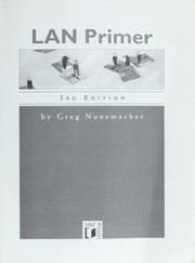 LAN primer by Greg Nunemacher