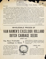 Cover of: Wholesale prices of Van Namen