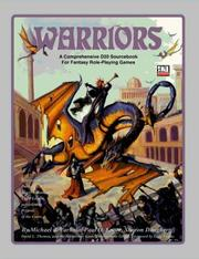 Cover of: Warriors: A Comprehensive D20 Sourcebook for Fantasy Role-Playing Games