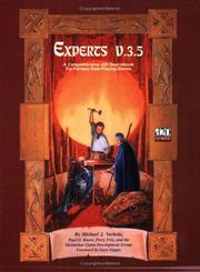 Cover of: Experts v.3.5: A Comprehensive d20/OGL Sourcebook for Fantasy Role-Playing Games