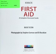 Cover of: Knack first aid: a complete illustrated guide