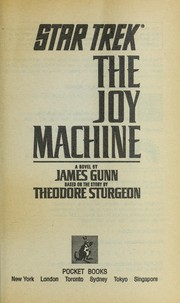 Cover of: The joy machine: a novel