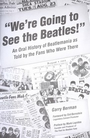 Cover of: We're going to see the Beatles!