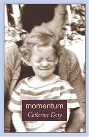 Cover of: Momentum | Catherine Doty