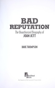 Cover of: Bad reputation | Dave Thompson
