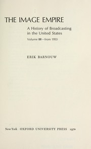 A history of broadcasting in the United States.