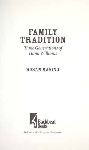 Family tradition by Susan Masino