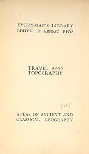 Cover of: Atlas of ancient & classical geography
