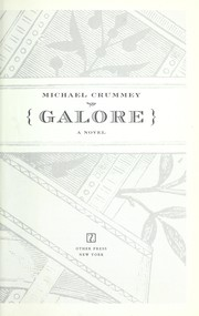 Cover of: Galore | Michael Crummey