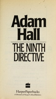 Cover of: The Ninth Directive